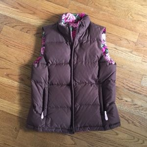Lilly Pulitzer women's reversible down vest